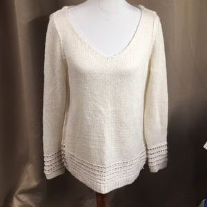 Lauren Conrad ivory sweater